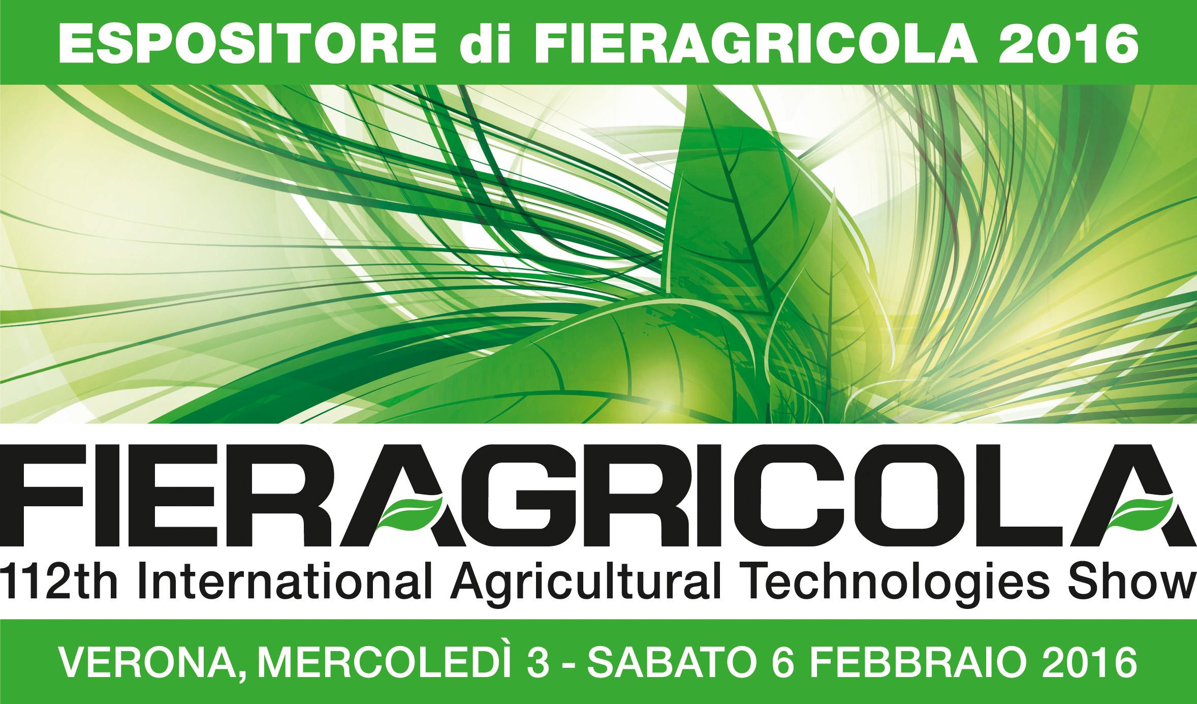 logo Fieragricola Espositore data