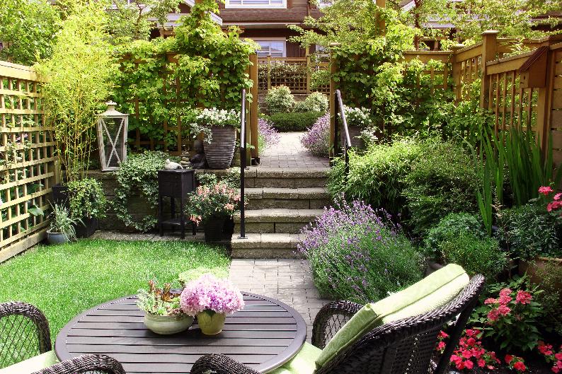 giardino fine estate