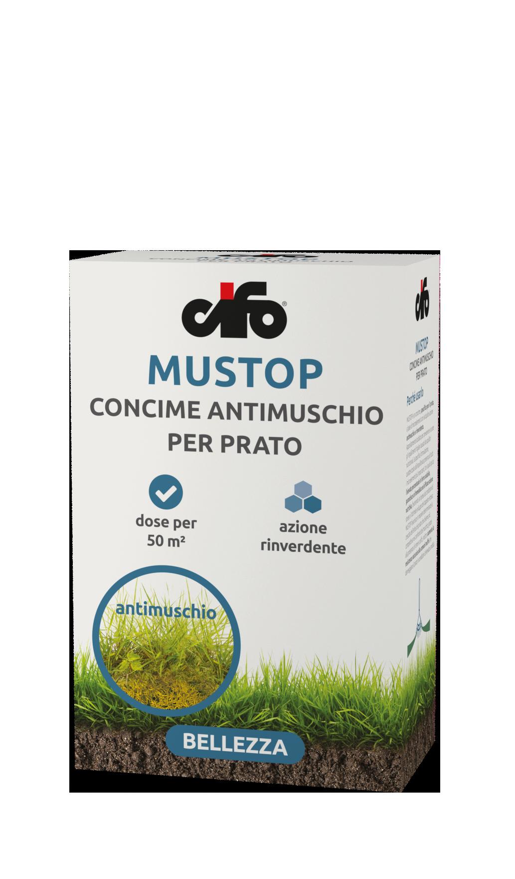 Concime Per Prato Autunnale mustop - cifo