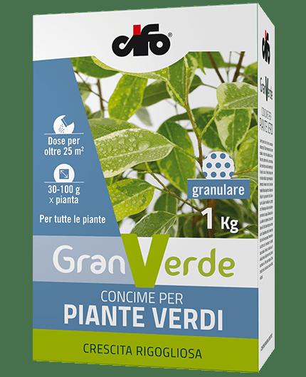 Granverde concime granulare piante verdi cifo for Piante acquisto